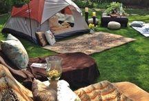 Backyard Camping Ideas~