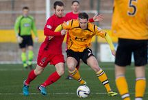 Annan Athletic v Queen's Park / Pictures from the SPFL League Two match between Annan Athletic and Queen's Park.  Game played at gala bank on Saturday 14th February 2015.  Annan won 2-0.