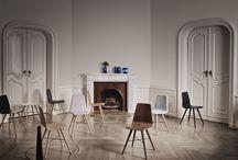 Wood / Scandinavian design and wood furniture inspirations