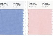 "2016 Colors of the Year / Fashion Tip Tuesday: The 2016 Pantone color of the year - ROSE QUARTZ & SERENITY.  Unlike other years the Pantone company  named not one but two colors. Both colors soft yet beautiful.  ""With the whole greater than its individual parts, joined together Serenity and Rose Quartz demonstrate an inherent balance between a warmer embracing rose tone and the cooler tranquil blue, reflecting connection and wellness as well as a soothing sense of order and peace,"" said Leatrice Eiseman, Executive Director of the Pantone Color Institute. - Pantone.com  #fashiontiptuesday #2016 #fashion #coloroftheyear #style #instafashion #instastyle #fashionblogger #love #styleblogger #londonlovesfashion / by London Naughté"