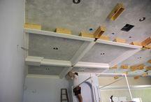 coffered ceiling DIY