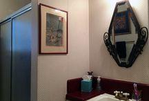 Mammoth Bathroom by Erika Winters® Design / Bathroom makeover ArtDeco Style.