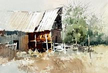 Carl Purcell-Contemporary Watercolours / (US)