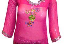 Designer Indian Kurtis / Online shopping of latest fashion designer kurtis, Ladies Kurtis, Indian Tunics, Cotton Kurtis, Designer Tunics in India.