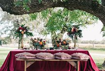 Boho & Romantic Wedding / Participating Vendors: Historic Taylor Barn, Events by Reagan, Leigh Miller Photography, Good Earth Floral Design Studio, Loveletter Studio, UltraPom, McLain's Bakery, Altar Bridal, Magdalena Styles, & La Tavola Fine Linen