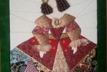 meninas patchwork