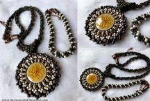 Haft koralikowy Bead embroidery