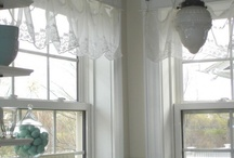 Window treatments / by Janey Sloss
