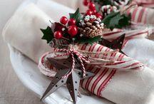 bord til jul