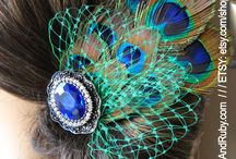 O&R Fascinators & Headpieces / Available in our shop - www.OliviaAndRuby.com