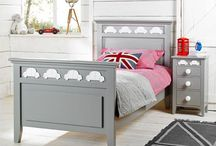 Bertie Beetle Children's Bedroom Ideas / If your little man is car mad, he'll no doubt be driven wild with pleasure when he sees our charming Bertie Beetle boys bedroom furniture range. Featuring beetle cars in the detailing, this luxury range is finished in super cool grey with pure white cars. Children's furniture, kids bedroom, kids furniture, childrens decor, home interiors, home, interiors, British, bedroom, decor, interior design, inspiration.