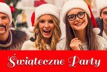 Impreza świąteczna / Impreza świąteczna to wydarzenie, do którego warto się przygotować wcześniej i zrobić to w najlepszym stylu. Z dekoracjami i kostiumami w dowolnym klimacie będzie to proste. Zrobicie wrażenie na samym Świętym Mikołaju.