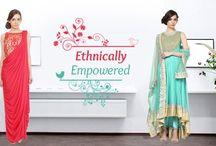 #saree & demure in a #Salwaar! Ethnic wear