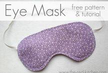 Mascara eye mask