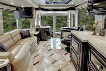 Luxury Motor Homes / Here you will find a collection of some of the swankiest, most luxurious motor homes on the road. These are the super stars of the RV industry.