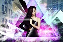 Nightclub Posters / Design concepts for nightclub campaigns.