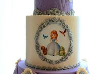 sofia the first cakes cupcakes