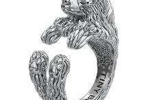 Australian Shepherd Jewelry / Australian Shepherd inspired jewelry by www.TinyBling.com