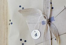 Ideas - It's a wrap / Giving gifts is fun and so is wrapping them in fun and pretty ways. / by Cecilie Malling