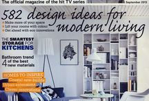 Tori Murphy in the Press / Tori Murphy in the press. Incorporating exciting interviews and features with well-known living and design publications.