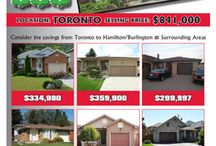 Bank Your $$$ / Compare listings that have sold in the GTA to homes for sale in the Hamilton-Burlington area and see how much money you can save.