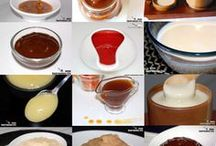 salsas dulces para postres