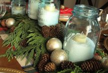 Christmas Day / Christmas table decorations