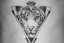 Tiger tattoo enhancement ideas