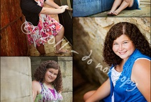 Senior posing