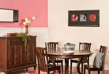 Dining Room Decor / Handcrafted quality Amish dining solutions with creative storage and exceptional design.