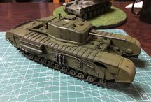 英国歩兵戦車チャーチルMk.7
