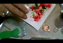 Cards - Brusho & Bister