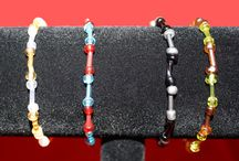 Bracelets / Unique one of a kind bracelets from artist Michele Wilson can be found at http://artbymichelewilson.com/bracelets.htm / by Michele Wilson
