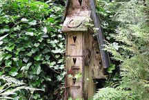 Casas de pájaros...