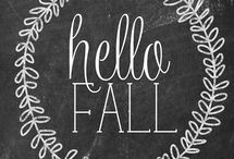 Finally Fall / One of our favorite seasons. Check out this board for our favorite fall inspirations!