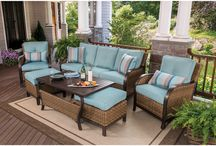 Outdoor Living / One of the best ways to spend the summer months is in the backyard lounging on patio furniture with friends and family. Update your outdoor space with our selection of slate-top tables, deep seating wicker sets and oversized umbrellas now so you can avoid wasting a single minute when relaxing outside. / by BJ's Wholesale Club