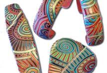 polymerclay jewelry / by Margaret Nystrom
