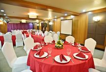 FUNCTION ROOM / Composed of julianna and mikaela that accommodates 120 person for banquet set-up