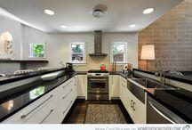 small Kitchens / Small kitchen designs