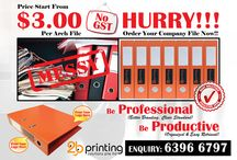 Printing Services / 2b Printing - Special Printing Services in Singapore