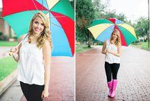 Rain photo session