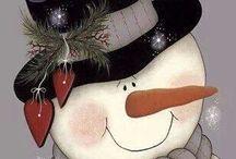 Snow mam