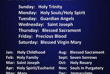 Liturgical Year/Feast Days