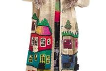 Вязание: пальто