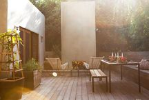 Outdoor rooms / landscaping ideas