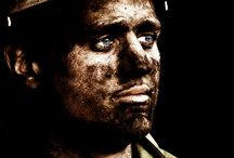 Coal miners.A Real Man.This is a MAN. / Rough-Miners