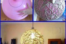 lampara de cuerdas