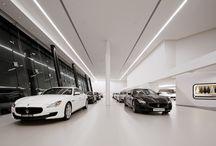 Car dealer office