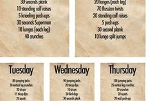 fitness ideas / by CHELLE McClure
