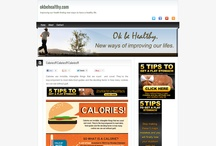 """My Site: Information and about Health and Fitness """"http://okbehealthy.com / by Seyfen Green"""